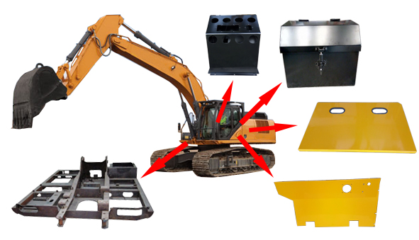 Parts of Heavy Earth Moving Equipment